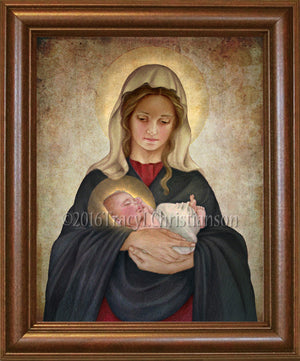 Madonna & Child (K) Framed