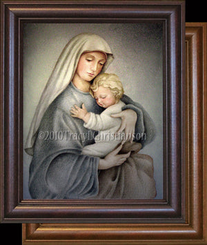 Madonna & Child (C) Framed