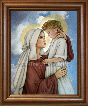 Madonna & Child (N) Framed