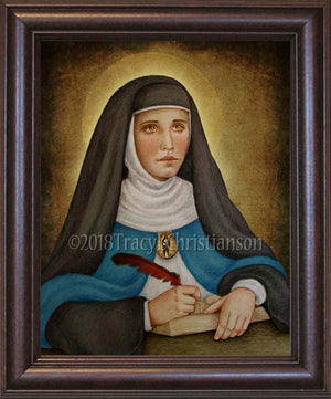 Venerable Mary of Agreda Framed