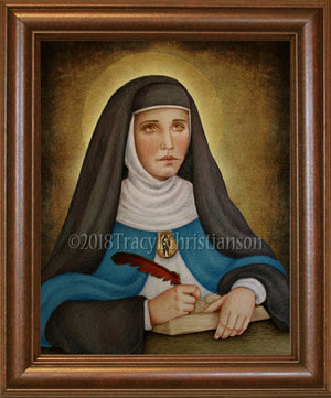 Mary of Agreda Framed