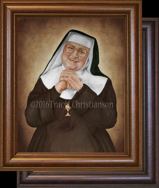 Mother Angelica Framed