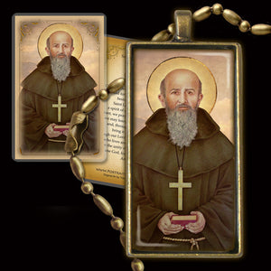 St. Lawrence of Brindisi Pendant & Holy Card Gift Set