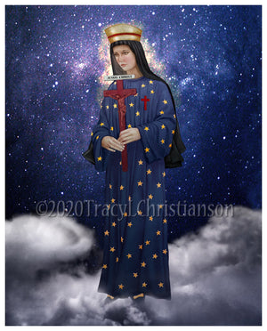 Our Lady of Pontmain Print