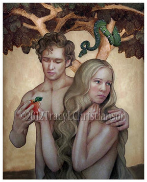 Sts. Adam and Eve Print