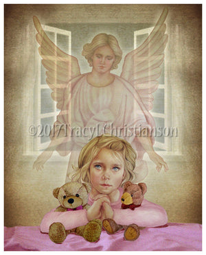 Guardian Angel/Girl Print