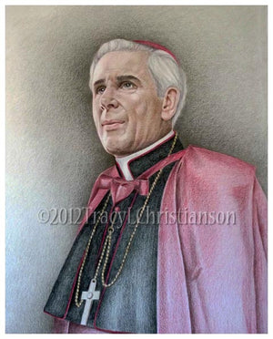 Bishop Fulton Sheen Print