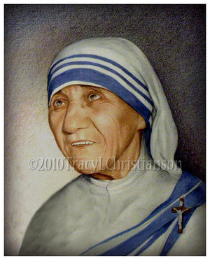 St. Mother Teresa of Calcutta Print