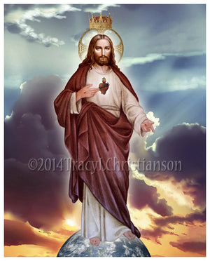 Christ the King Print