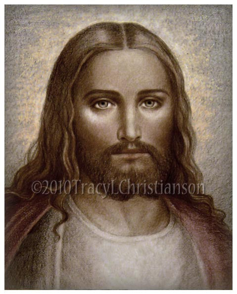 Face of Christ Print