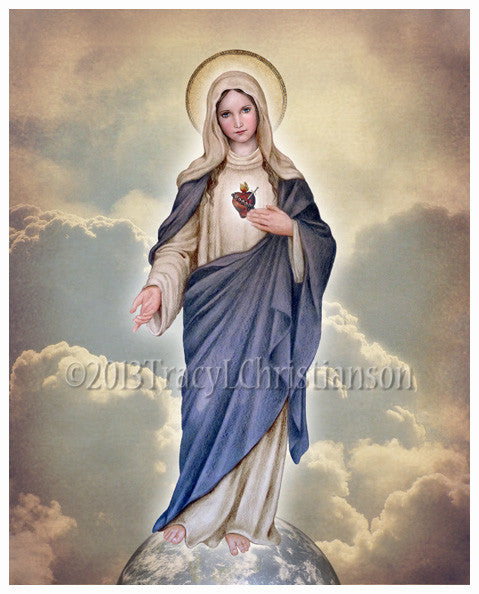 Immaculate Heart (full-length) Print