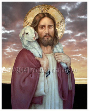 The Good Shepherd Print
