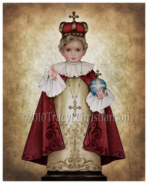 Infant of Prague Print