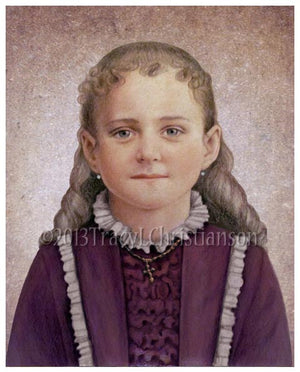 St. Therese of Lisieux, the Little Flower Print