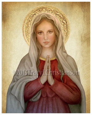 Mary, Mother of God Print