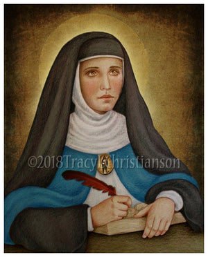 Venerable Mary of Agreda Print