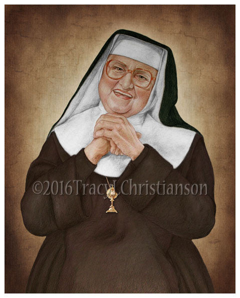Mother Angelica Print