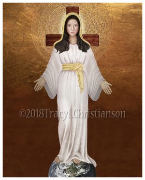 Our Lady of Akita Print