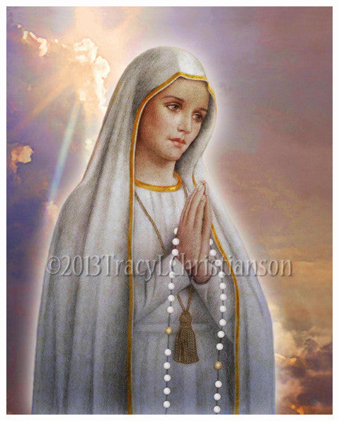 Our Lady of Fatima Print