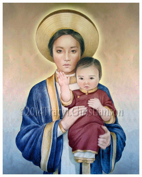 Our Lady of La Vang Print