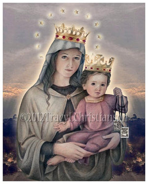 Our Lady of Mount Carmel Print