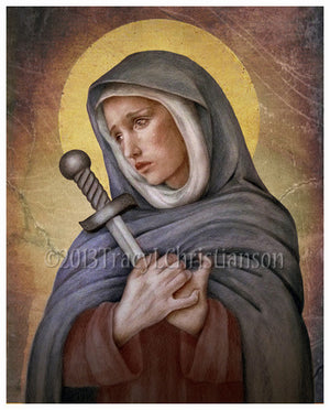Our Lady of Sorrows Print