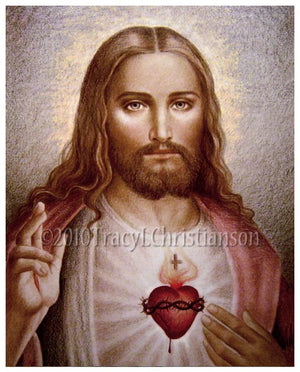 Sacred Heart of Jesus (C2) Print