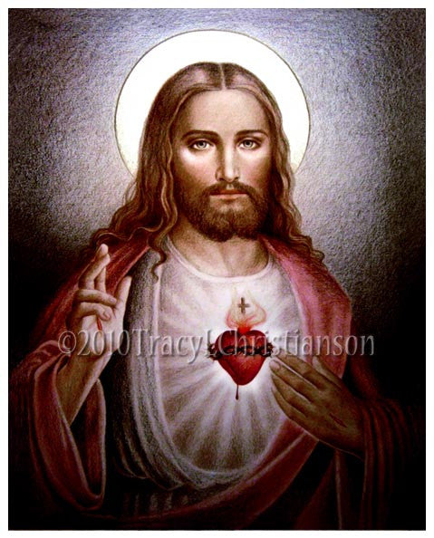Sacred Heart of Jesus (B) Print