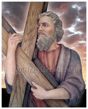 St. Andrew the Apostle Print