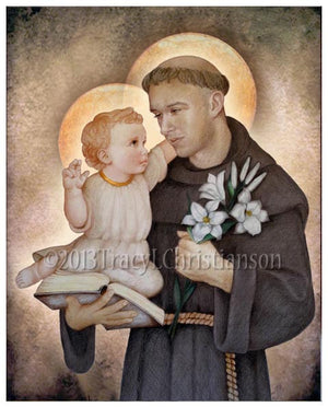 St. Anthony of Padua Print