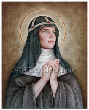 St. Bridget of Sweden Print