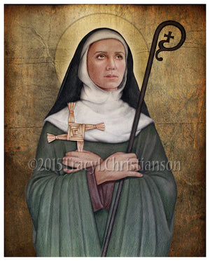 St. Brigid of Ireland Print
