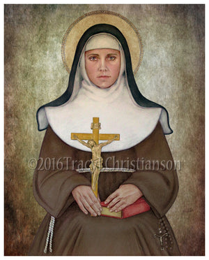 St. Catherine of Bologna Print