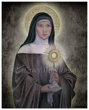St. Clare of Assisi Print