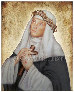 St. Catherine of Siena Print