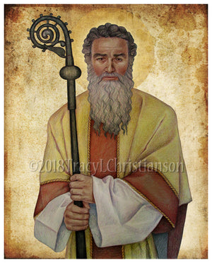 St. Cyprian of Carthage  Print