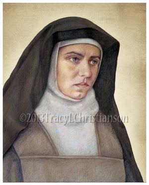 St. Edith Stein (St. Teresa Benedicta of the Cross) Print