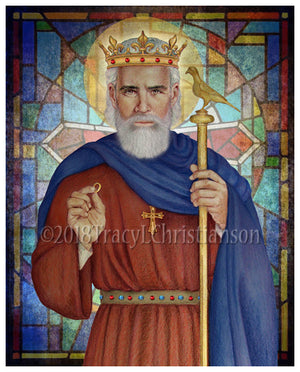 St. Edward the Confessor Print