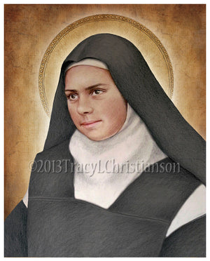 St. Elizabeth of the Trinity Print