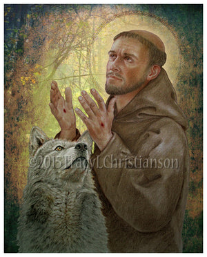 St. Francis of Assisi (B) Print