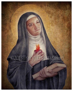 St. Gertrude the Great Print