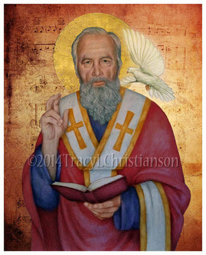 St. Gregory the Great Print