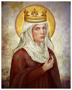 St. Hedwig of Poland Print