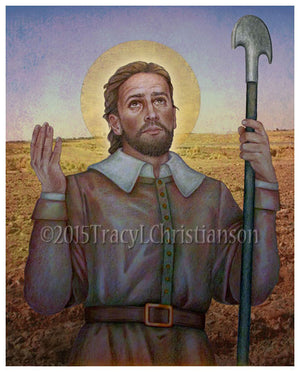 St. Isidore the Farmer Print