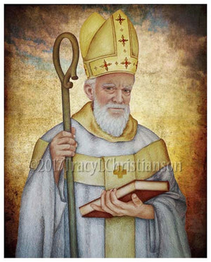 St. Isidore of Seville Print