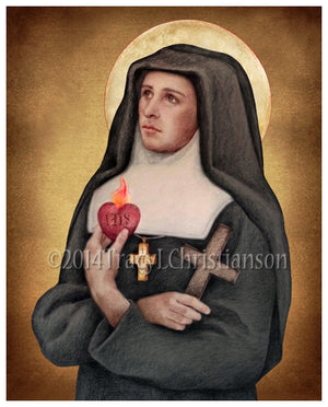 St. Jane de Chantal Print