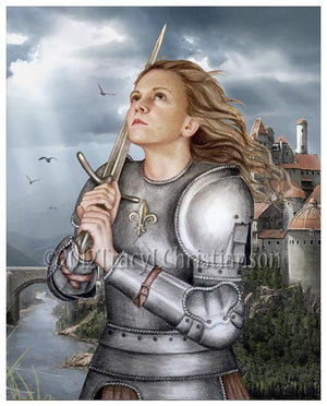 St. Joan of Arc Print