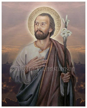 St. Joseph, Husband of Mary Print