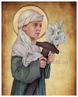 St. Joseph the Child Print