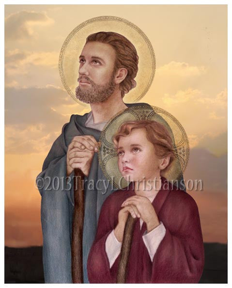 St. Joseph, Foster Father of Jesus Print